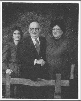 Frank and Francis Aten and their daughter