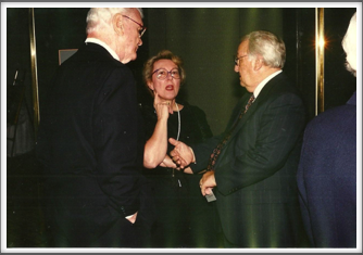Tom Holt, Lucy and Don Lussenden