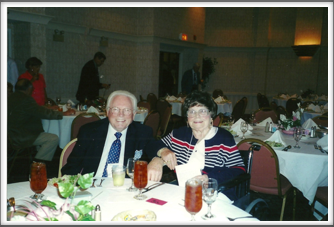 Joe and Mary Barrett at the Banquet