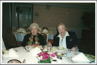 "Roy ""Tex"" and Helen Chappell at the Banquet"