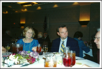 Kathy Ezell at the Banquet