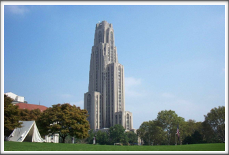 University of Pittsburgh:  Cathedral of Learning
