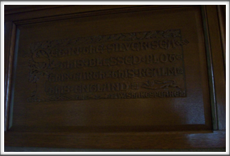 University of Pittsburgh:  Nationality Classroom Woodwork