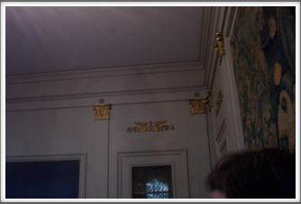 University of Pittsburgh:  Nationality Classroom Gold Trim
