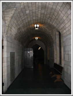 University of Pittsburgh:  Cathedral of Learning Hallway