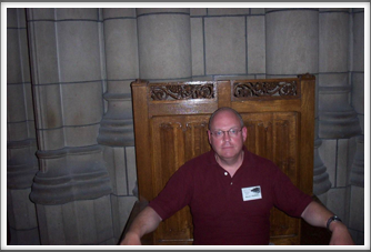 University of Pittsburgh:  Bill Caldwell at Cathedral of Learning