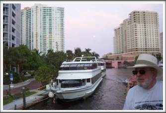 Ft. Lauderdale: Condominiums & Boats Along The Waterway & Barry Richins