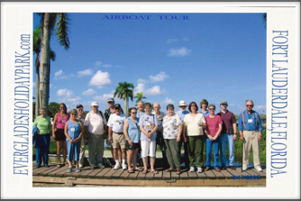 Everglades: Airboat Tour Group