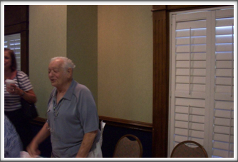 Memorial Meeting:  Irv Solotoff (reunion host)