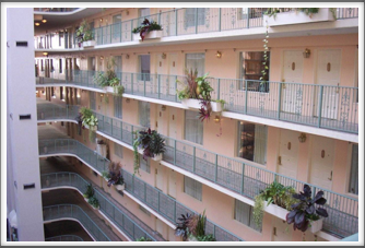Embassy Suites Rooms & Balconies