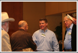 Business Meeting: Jay Wagner, Barry Richins, Ed Graf & Bob Thompson