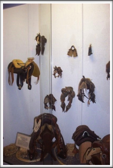 Will Rogers Museum: Mini Saddles