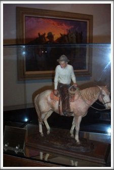 Will Rogers Museum: Horse
