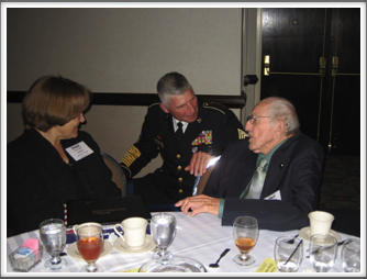 Banquet: Jim Betts,  Janice Turner & MSG Boughner