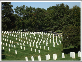 Arlington National Cemetery: Gravestones