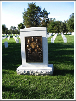 "Arlington National Cemetery:  ""Challenger"" Shuttle Memorial Gravestone"