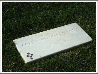 Arlington National Cemetery:  Robert F. Kennedy Gravestone