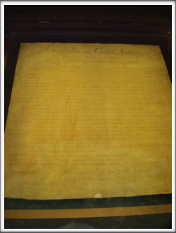 US National Archives: Bill of Rights Original