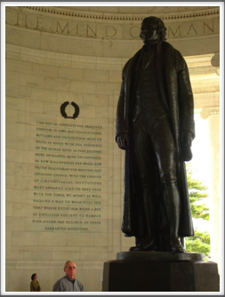 Jefferson Memorial: Statue