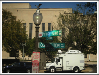 Pennsylvania Avenue Street Sign