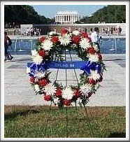 WWII Memorial: Oflag 64 Wreath