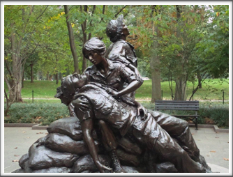WWII Women's War Monument