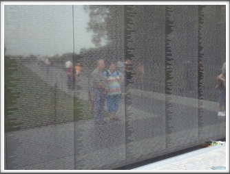 Viet Nam Memorial Wall Reflection