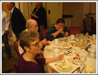 Banquet - Barbara & Barry Richins, Janet Ellsworth, Kriegy Ed Graf, Judy Knight