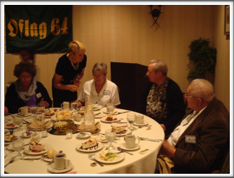 Banquet - Virginia Scofield, Julie Gionfriddo, Drs. Jean and Thomas Sutherland, Kriegy Herm Littman
