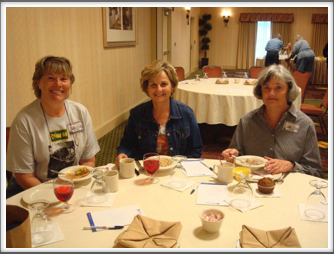 Saturday Breakfast - Karen Rossi, Anne Kreutzer, Gail Rahal