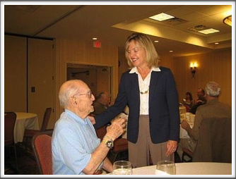 Saturday Breakfast Speaker - Colorado Freshman Congresswoman Betsy Markey with Kriegy Don Graul