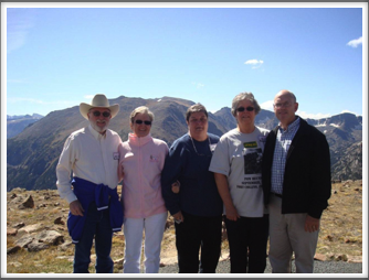 RMNP - Barry & Barbara Richins, Janet Ellsworth, Elodie & Bill Caldwell