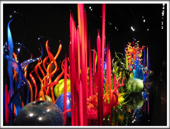 "Chihuly Museum - ""Mille Fiori"" (a thousand flowers) Google Photo (photos were not allowed within the museum itself)"