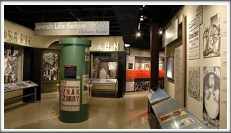 Holocaust Museum - displays near the entrance (Google Image)