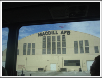 MacDill AFB Operations Center for Coalition Forces