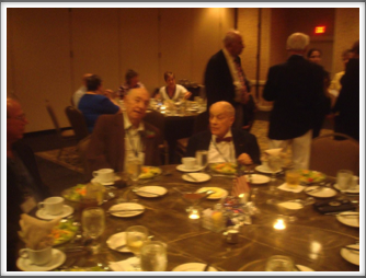 "Sid Thal and ""Doc"" Di Francesco at the Banquet"