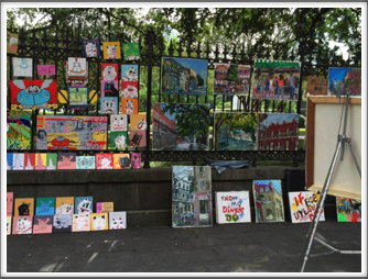 More art displayed at Jackson Square