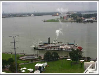 Natchez river boat on the Mighty Mississippi