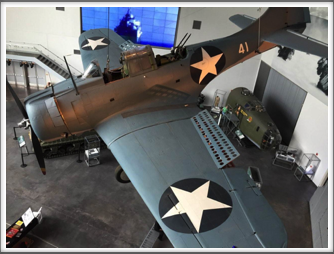 TBM Avenger - displayed at the US Freedom Pavilion/Boeing Center