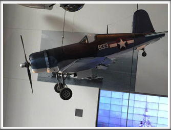 F4U-4 Corsair - displayed at the US Freedom Pavilion/Boeing Center