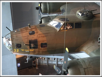 """My Gal Sal"" - This is the actual aircraft that crash-landed in Greenland.  It was recovered and restored and is now displayed at the US Freedom Pavilion/Boeing Center"