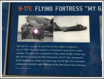 Displayed at the US Freedom Pavilion/Boeing Center