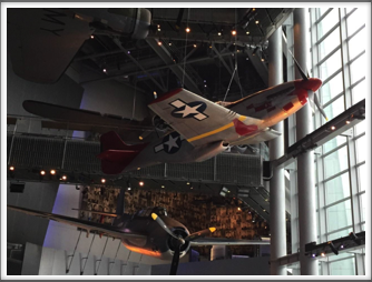 P-51D Mustang - displayed at the US Freedom Pavilion/Boeing Center