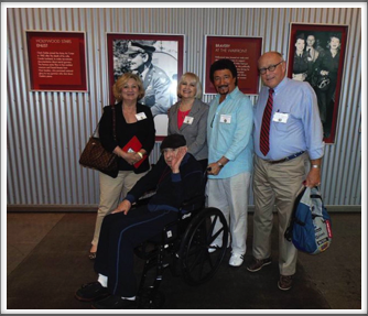 Martha Waters, Alan & Evie Dunbar, Dondino Melchiorre & Pat Waters at the WWII Museum