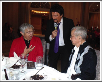 "Saturday Banquet -  Dondino Melchiorre and Lynn Kanaya sing a ""duet"""