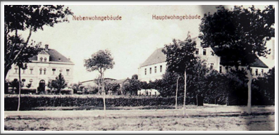 "1910 ""hospital"" and ""White House"" buildings or minor and main edifices of the Provincial Protective-Educational Centre"
