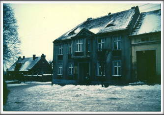 House owned by a Polish doctor which housed POW's after their escape