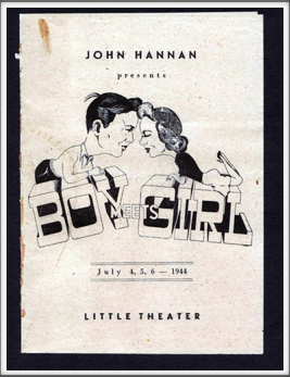 "July '44 - ""Boy Meets Girl"""