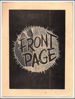 "August '44 - ""The Front Page"""