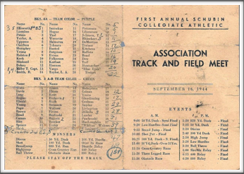 September '44 - Track And Field Meet
